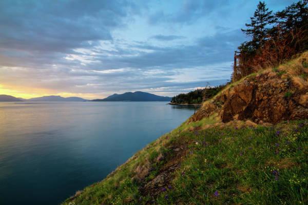 Wall Art - Photograph - Fading Light On Fidalgo Island by Rich Leighton