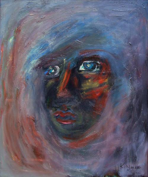 Painting - Fading Slowly by Katt Yanda