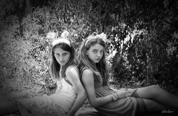 Photograph - Faery Sisters by Diana Haronis