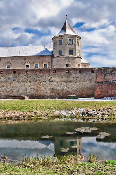 Wall Art - Photograph - Fagaras Fortress by Gabriela Insuratelu