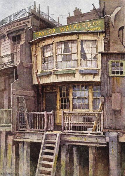 Victorian House Digital Art - Fagin's Den by Sarah Vernon