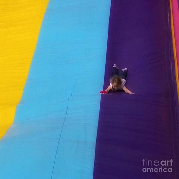 Wall Art - Photograph - #fair #funfair #carnival #slide #slides by Abbie Shores