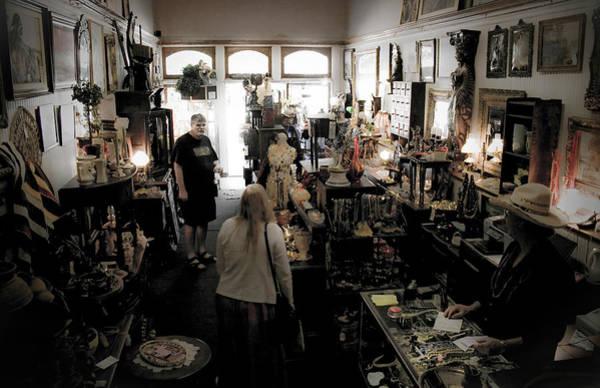 Photograph - Fair Oaks Antique Shop by Lee Santa