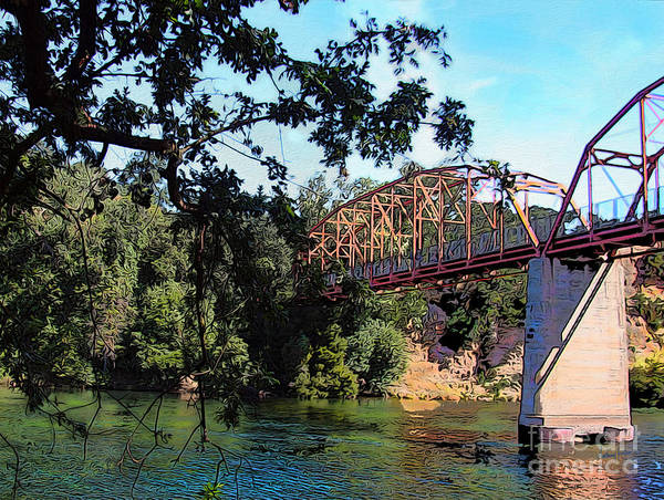 Wall Art - Photograph - Fair Oaks Bridge by Anthony Forster
