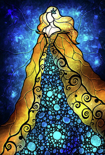 Digital Art - Fair Ophelia by Mandie Manzano