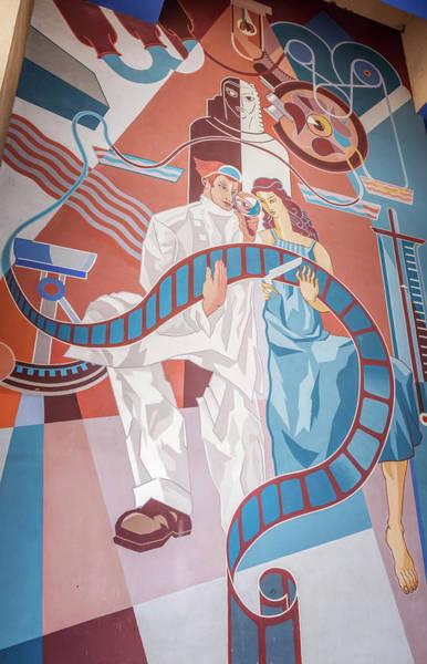 Photograph - Fair Park Mural Dallas Tx by Joan Carroll