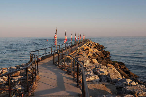Wall Art - Photograph - Fairfield Fishing Pier by Stephanie McDowell