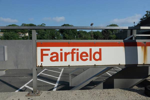 Wall Art - Photograph - Fairfield Train Station  by Sue Schwer