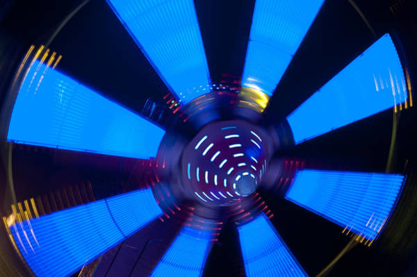 Photograph - Fairground Abstract Vi by Helen Northcott