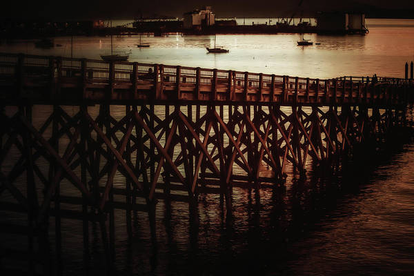 Wall Art - Photograph - Fairhaven Off-ramp by Monte Arnold