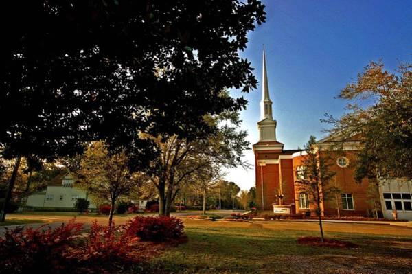 Painting - Fairhope Alabama Church by Michael Thomas