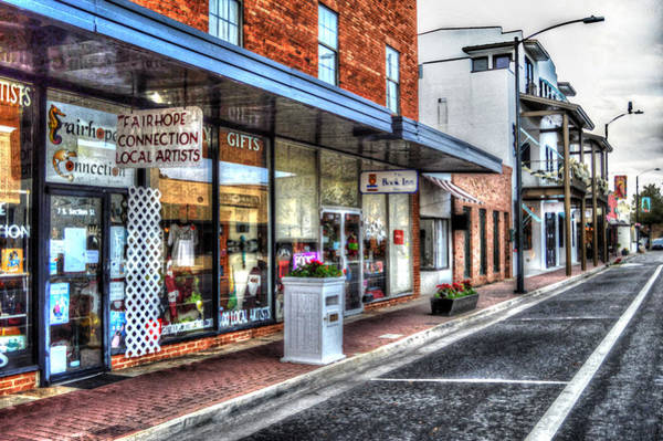 Photograph - Fairhope Connection Street View by Michael Thomas