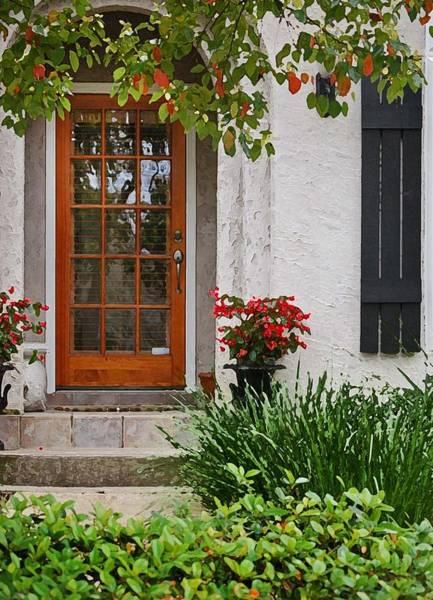Digital Art - Fairhope Doorway by Michael Thomas