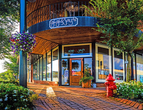 Photograph - Fairhope Gigi And Jays Corner by Michael Thomas