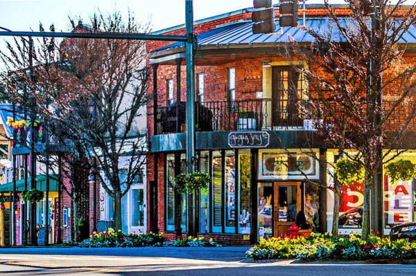 Photograph - Fairhope Section Street Corner by Michael Thomas