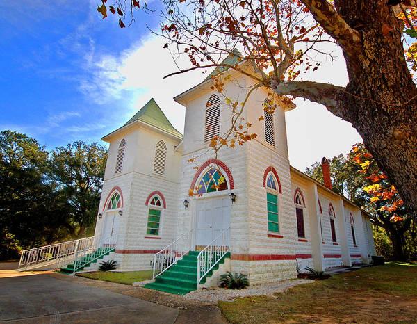 Painting - Fairhope Zion Church by Michael Thomas