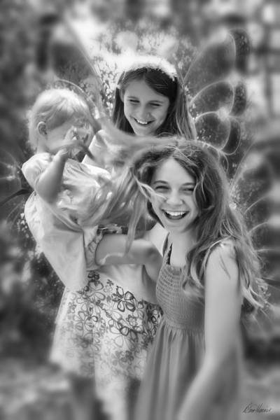 Photograph - Fairies At Play by Diana Haronis