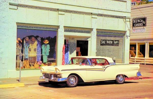 John Schneider Wall Art - Photograph - Fairlane 500 1957 by John Schneider