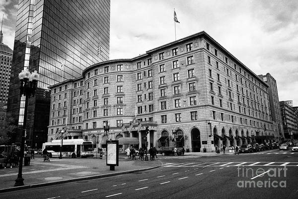 Wall Art - Photograph - fairmont copley plaza hotel Boston USA by Joe Fox