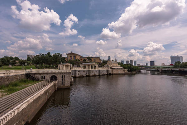 Photograph - Fairmount Water Works And Philadelphia Museum Of Art by Terry DeLuco