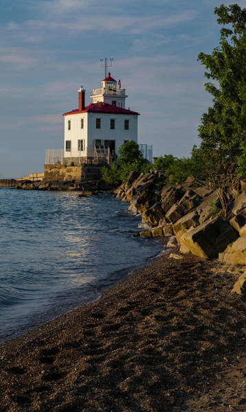 Photograph - Fairport Harbor Lighthouse Panoramic by Dale Kincaid