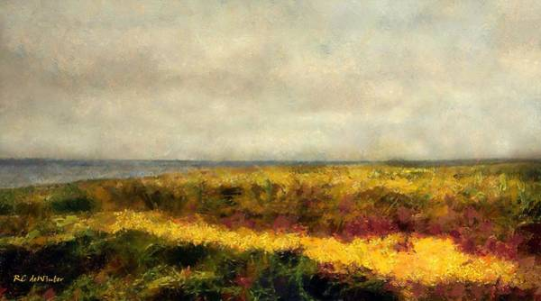 Painting - Fairweather Clouds by RC DeWinter