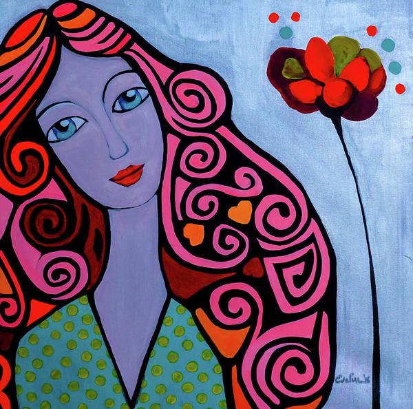 Genie Painting - Fairy Dream by Evelin Muntean