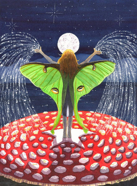 Painting - Fairy Dust by Catherine G McElroy