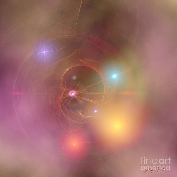 Wall Art - Painting - Fairy Dust Nebula by Corey Ford