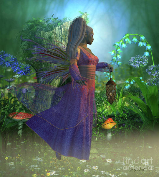 Mirage Digital Art - Fairy Laryn by Corey Ford