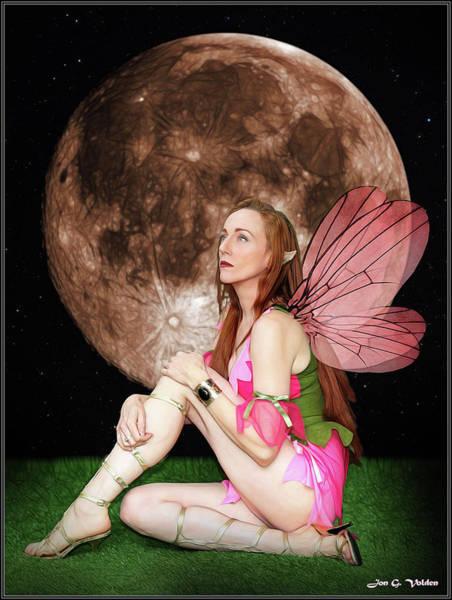 Photograph - Fairy Moon by Jon Volden