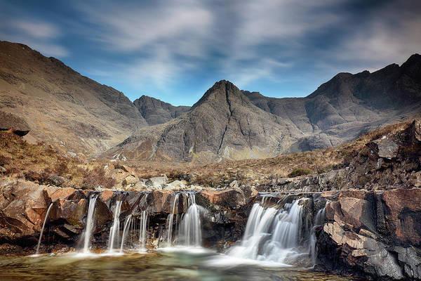 Photograph - Fairy Pools - Isle Of Skye by Grant Glendinning