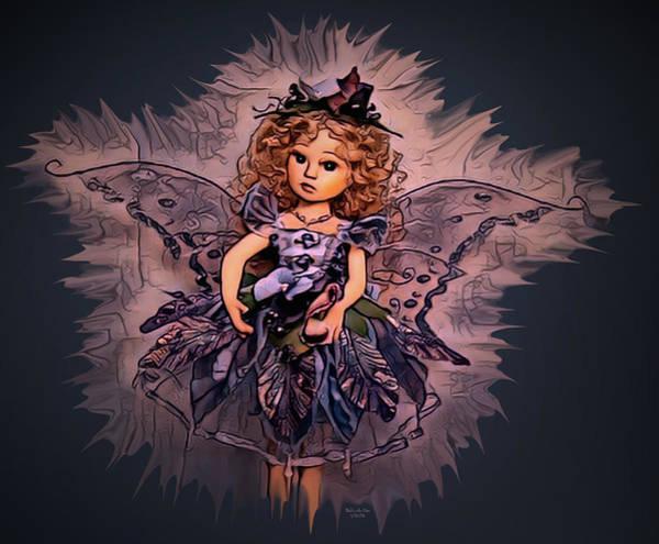 Digital Art - Fairy Princess Doll by Artful Oasis