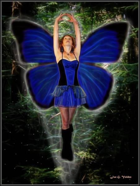 Painting - Fairy Rising by Jon Volden