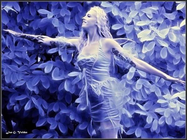 Ir Painting - Fairy Taking Flight by Jon Volden