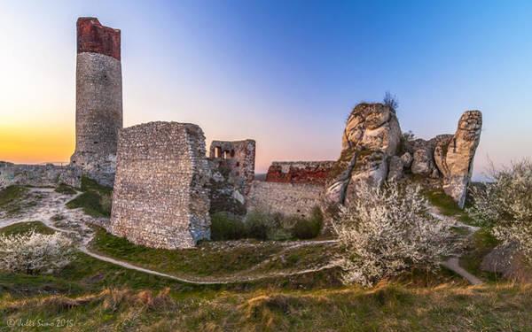 Fairy Tale Castle Remnants Art Print