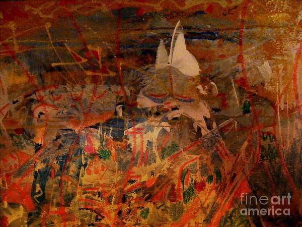 Primary Colors Mixed Media - Fairy Tales by Nancy Kane Chapman