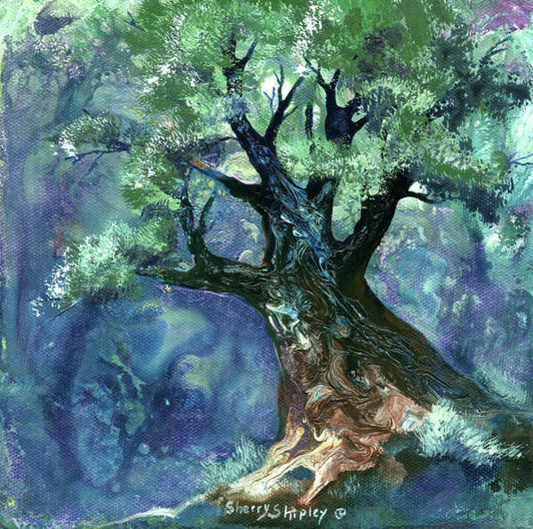 Painting - Fairy Tree by Sherry Shipley