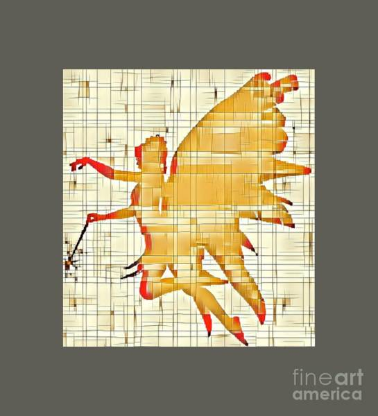 Wall Art - Digital Art - Fairy Wings by Sarah Kirk