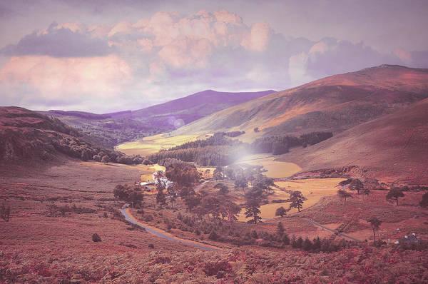 Photograph - Fairyland. Wicklow Hills. Ireland by Jenny Rainbow