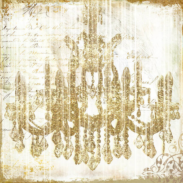 Wall Art - Painting - Fairytale Ballroom by Mindy Sommers