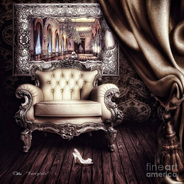 Mo Wall Art - Digital Art - Fairytale by Mo T