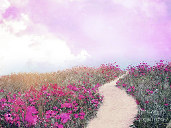 Wall Art - Photograph - Fairytale Nature Fantasy Woodlands Path Baby Girl Nursery Room Decor  by Kathy Fornal