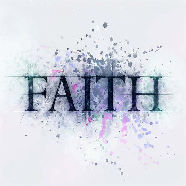 Drawing - Faith by Christina VanGinkel