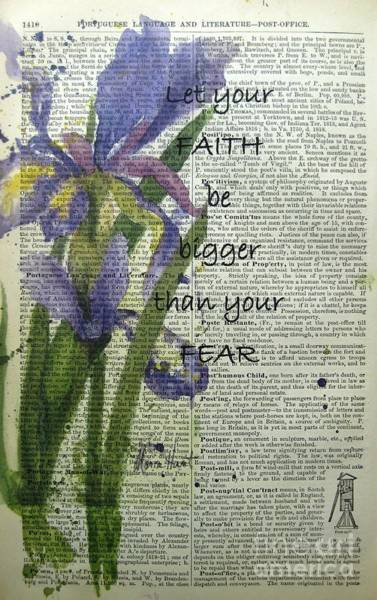 Wall Art - Painting - Faith Is Greater by Maria Hunt