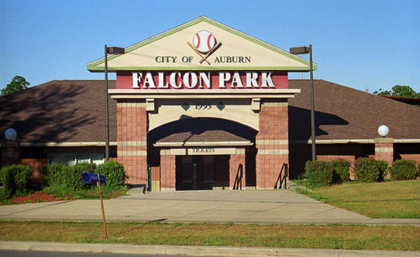 Photograph - Falcon Park - Auburn Doubledays by Frank Romeo