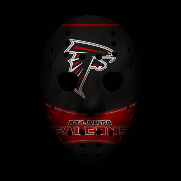 Falcons Photograph - Falcons War Mask 3 by Joe Hamilton