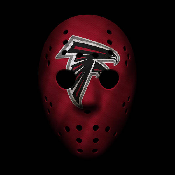 Falcons Photograph - Falcons War Mask by Joe Hamilton