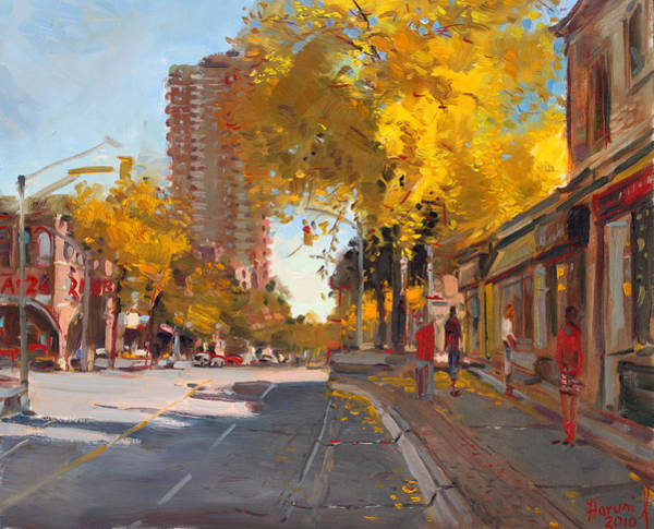 In Canada Painting - Fall 2010 Canada by Ylli Haruni