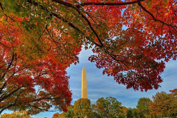 Photograph - Fall 2015 Washington Dc by Bill Dodsworth